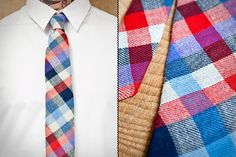 Stalward Ties – Handmade and hand stitched in a family-owned Chicago factory. I'll be buying some of these.