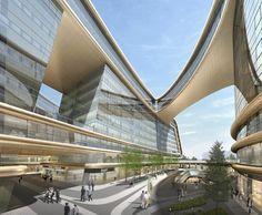 Sky SOHO - Architecture - Zaha Hadid Architects #Architecture