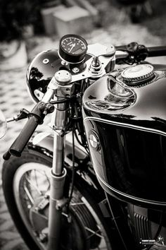 BMW cafe racer| Repinned by http://thecaffeinateddaytripper.com