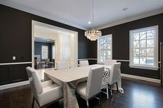 A stunning modern country style dining room. #homeandstyleliving