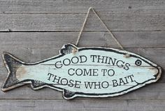 Inspirational Wall Art: Good Things - From Antiquefarmhouse.com - http://www.antiquefarmhouse.com/current-sale-events/nautical-decor/inspirational-wall-art-good-things.html