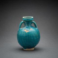 Parthian Glazed Terracotta Amphora - LO.508 Origin: Central Asia Circa: 1 st Century AD to 4 th Century AD