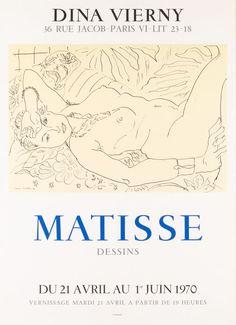 Matisse. Dina Vierny. — Windsor Fine Art