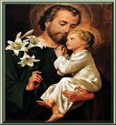 JEZUS en MARIA Groep.: NOVEENGEBED TOT ST.JOZEF: Wees gegroet Jozef de goddelijke genade heeft u overladen.Onze Verlosser heeft in uw armen gerust en is opgegroeid onder uw ogen.Gij zijt de gezegende onder alle mannen en gezegend is Jezus,het goddelijk Kind van u maagdelijke Bruid.Heilige Jozef tot Vader gegeven aan de Zoon van God,bid voor ons in onze zorgen  voor de familie, de gezondheid en het werk  tot op onze laatste dagen,en gewaardig u ons bij te staan in het uur van de dood. Amen.