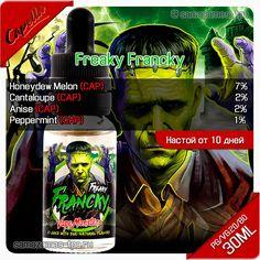 Рецепт жидкости Vape Monsters - Freaky Francky (CAP)