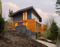 la résidence des Cullen!  -architecte: Jeff Kovel from Skylab Architecture  -interior designer: Lucy Metcalf.