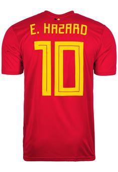 Trikot Adidas Belgien WM 2018 Home 164 bis XXL Eden Hazard 10