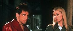 Model Idiot: Derek Zoolander, played by Ben Stiller, opposite his real-life wife, Christine Taylor, as Matilda Jeffries
