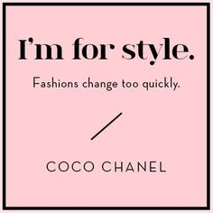 Wise Words from Coco Chanel | Design*Sponge | Bloglovin'