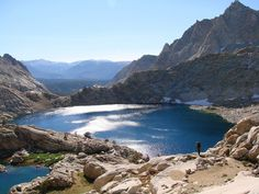 Columbine Lake, Sequoia National Park - California, USA.