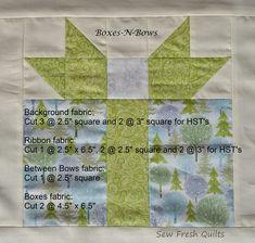 Christmas Blocks, Christmas Quilt Patterns, Christmas Sewing, Quilt Block Patterns, Pattern Blocks, Quilt Blocks, Christmas Quilting, Christmas Ideas, Christmas Present Quilt Block Pattern
