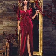 Очень популярное платье-халат #aiberry_atelier #бархатноеплатье #платьехалат#пошивплатья #платьенановыйгод