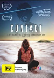'Contact is constructed around one of the most extraordinary pieces of footage in Australian History: the moment when a group of Martu women and children walk in from their nomadic existence. Can be used with the book, 'Cleared Out' by Sue Davenport, Peter Johnson  Yuwali.