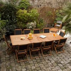 Salon de jardin 8 places LAMIA Squareline | Salons