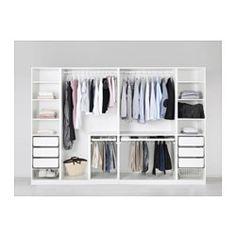 PAX Guardaroba - cerniera per chiusura ammortizzata, 300x60x201 cm - IKEA