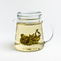 Straight Glass Teapot