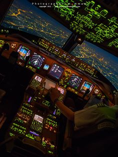 flight deck...