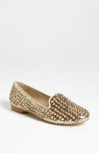 Steve Madden Gold Studs. Hannah loves these shoes. They are so over the top. She has so much fun wearing them