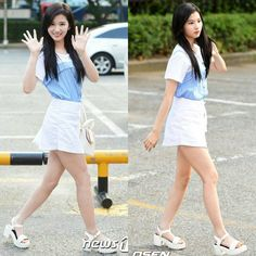 #walking with #sana - #Rompechinas #kpop #asiangirls #hot #sexy #cute #beauty #pretty #nice #style #fashion #hair #face #makeup #fit #waist #legs #model #singer #dancer #girl #young #jyp #twice #miniskirt #legsfordays #sandals