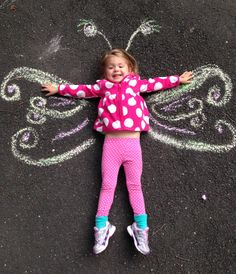 Chalk fun on the first day of fall!