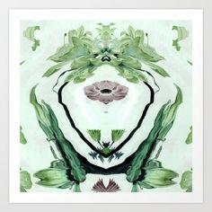 Green life Art Print