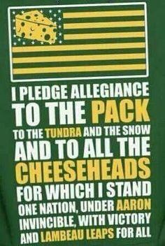 Packers Pledge of Allegiance