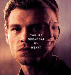 Você esta quebrando meu coração