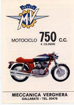 Posts about MV Agusta written by themarquis Mv Agusta, Bike Poster, Motorcycle Posters, Retro Bike, Retro Motorcycle, Classic Motors, Classic Bikes, Moto Guzzi, Cool Motorcycles