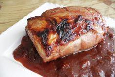 Lomo de Cerdo en Salsa de Guayaba, Vino Rojo y Tocineta French Toast, Pork, Canning, Meat, Healthy, Breakfast, Recipes, Cooking Recipes, Meals