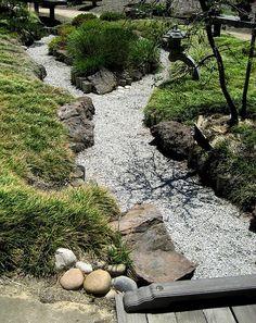 Dry creek bed...