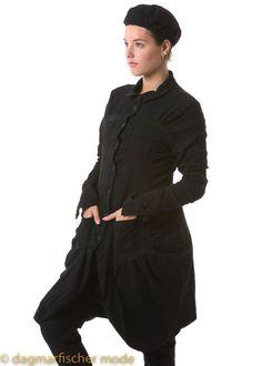 Coat by RUNDHOLZ - dagmarfischermode.de      #coat #warm #extravagant #rundholz #mainline #designer #german #fashion #style #stylish #styles #outfit #shopping #dagmarfischermode #shop #outfit #cool #autumn #fall #winter #lagenlook #oversize #mode #extravagant #germandesigner #cult #kult #moda #mode #germany #germandesign #design