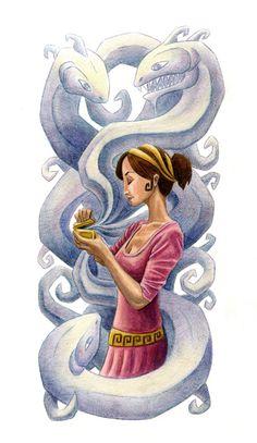 Pandora's Box | Pandora's Box Art Print by Paul T Demakes | Society6