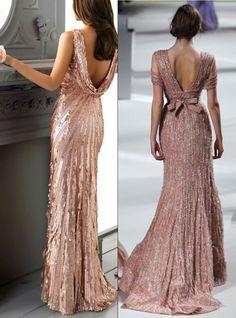 30 Sparkling Rose Gold Wedding Ideas | HappyWedd.com