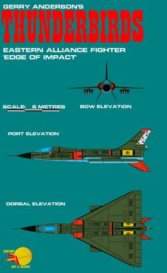 Gerry Andersons Thunderbirds Eastern Alliance Figh by ArthurTwosheds.deviantart.com on @DeviantArt