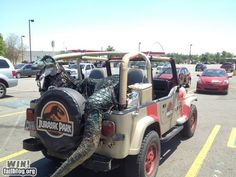Maybe next Jeep I own will be like this Jurassic Park themed one...thoughts anyone?