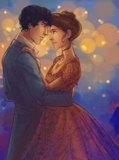 taratjah:  Will and Tessa for the 4th week of the shipweeks!Note to self: Don't listen to sappy romance songs while you draw Wessa because you will cry and won't be able to continue the actual drawing.  Awww….makes me want to post a TLH snippet.