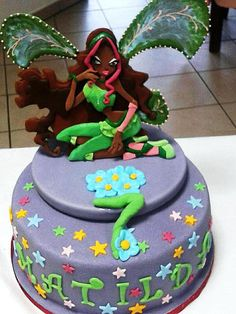 Winx Cake Sweet Words, Cake, Desserts, Kids, Food, Games, Candy Sayings, Tailgate Desserts, Young Children