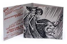 CD and Vinyl Graphics by Vladimir Zimakov via Behance Linocut Prints, Art Prints, Cd Packaging, Cd Cover, Book Covers, Printmaking, Screen Printing, Illustration Art, Behance