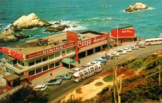Cliff House, San Francisco CA...still there but not nearly this cool any more