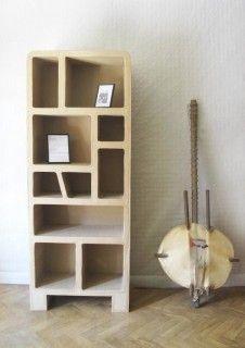 Ecodiseño, Originales muebles de cartón en Madrid