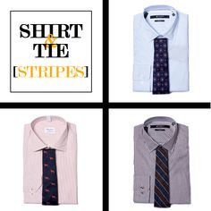 Style Tips | How to Match Your Shirt & Tie: Stripes | GOTSTYLE.CA