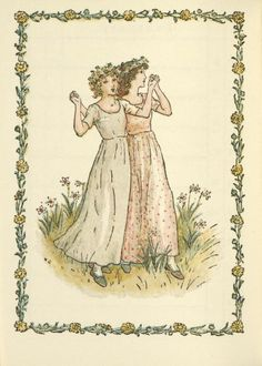 March - Kate Greenaway's Almanack for 1897