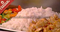 I Menu di Benedetta | Molto Bene: Pollo alle Mandorle con Riso e Verdure Caramellate...