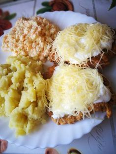 Tócsnis hús Cauliflower, Macaroni And Cheese, Bacon, Food And Drink, Pork, Cooking Recipes, Vegetables, Drinks, Breakfast