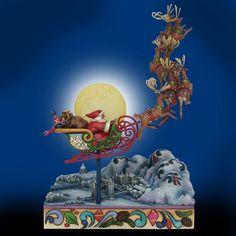 Jim Shore Santa's Sleigh Masterpiece