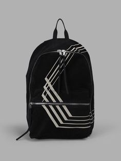 RICK OWENS DRKSHDW Rick Owens Drk Shdw Black Backpack. #rickowensdrkshdw #bags #backpacks #cotton #
