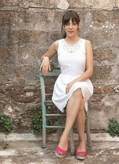 Turkish Beauty, Turkish Actors, Rose Byrne, In A Heartbeat, Actors & Actresses, White Dress, Bride, My Style, Celebrities