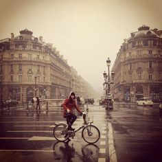biking in Paris :)