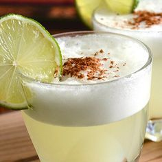 Pisco Sour Cocktail Recipe. Find more Peruvian recipes at http://www.perualacarte.com