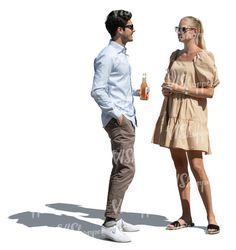 cut out man and woman standing and talking while drinking refreshing drinks Rain Collection, Spring Collection, A Man In Full, Circus City, Cut Out People, Magazine Man, Stock Imagery, Sports Uniforms, Character Poses